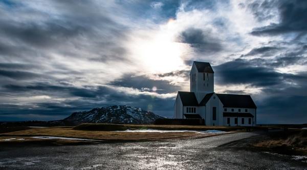 Lonely Church by JohnDyer