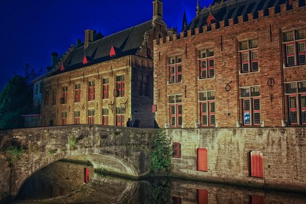 Blue Hour in Bruges 2 by Alfie_P
