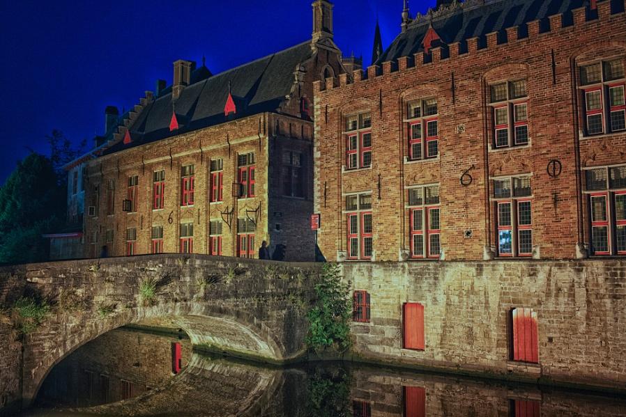 Blue Hour in Bruges 2