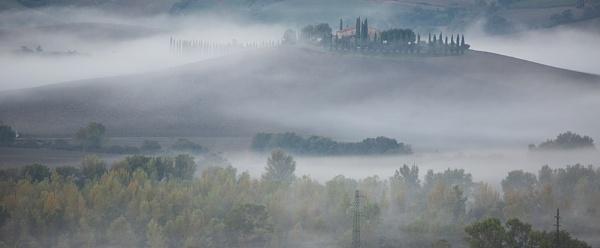 Fog bound landscape by rontear