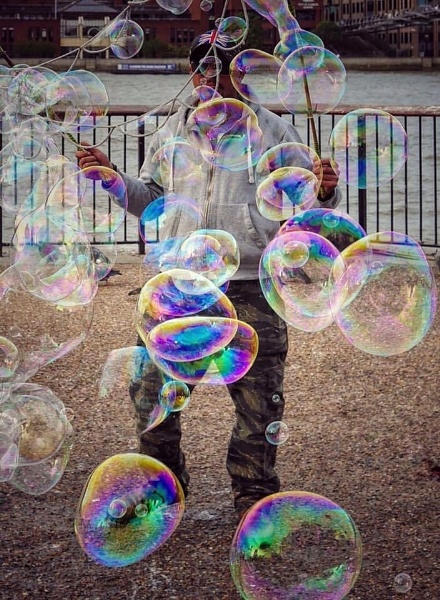 Bubble man by StevenBest