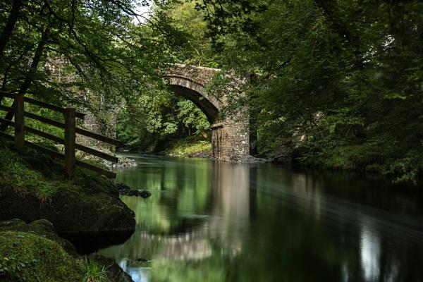 Holne Bridge by Arvorphoto