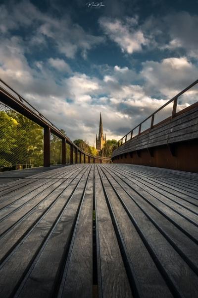 The Bridge of Lines v2 by DiazSprite