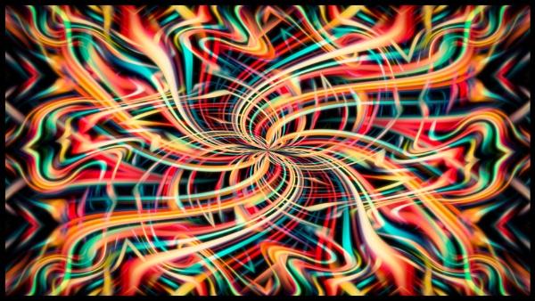 Abstract Twirl III by Yogendra