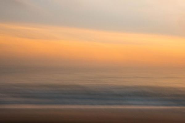 Dawn on the Beach by flowerpower59
