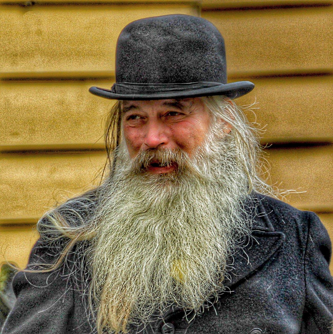 Lockdown beard.