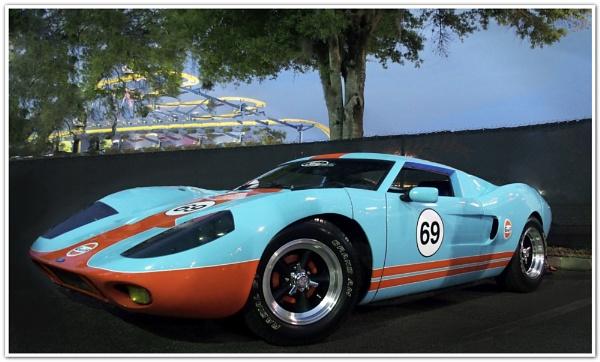 GT40 by DaveRyder