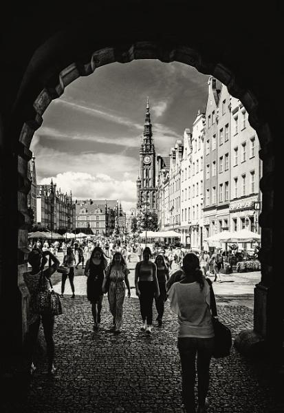 streets of Gdansk by mogobiker