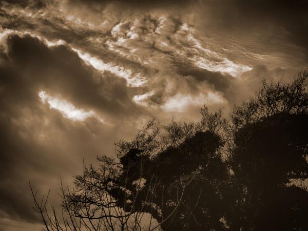 Troubled Sky by Backabit