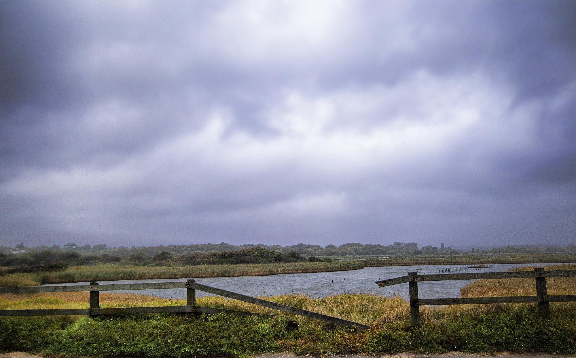 Storm at Hill Head