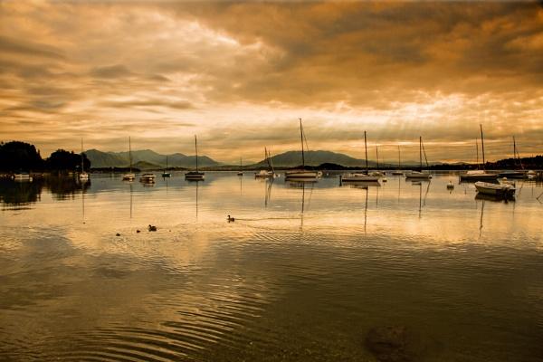 Evening, Lake Garda by sandwedge