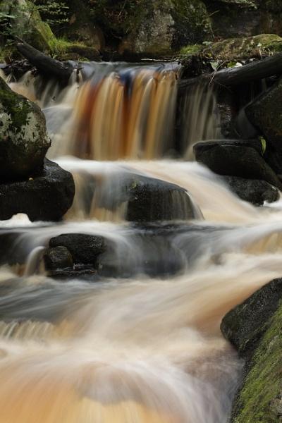 Burbage Brook Padley Derbyshire by RoyChilds