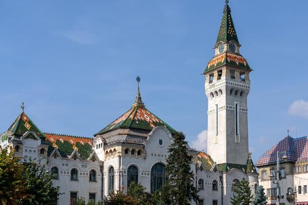 TARGU MURES, TRANSYLVANIA/ROMANIA - SEPTEMBER 17 : The Prefectur by Phil_Bird