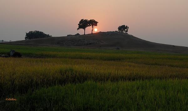 From_Kolkata # 82 Sunset in Simultala..2 by debu