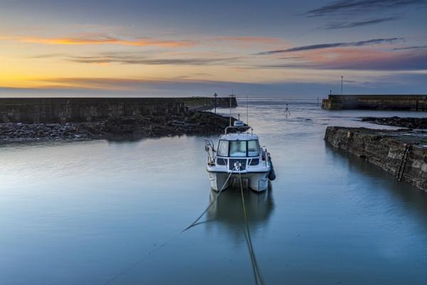Inverbervie boat by EddyG