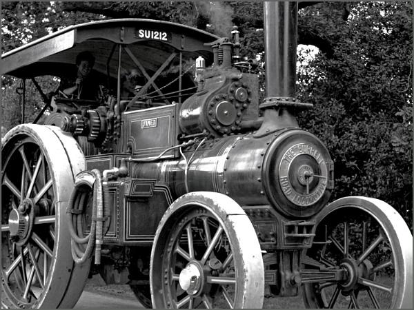 Burrell steam engine by JuBarney