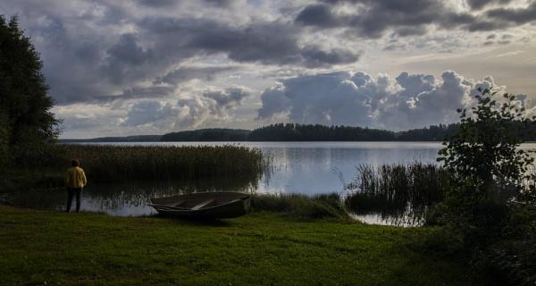 Enäjärvi lake. by Jukka