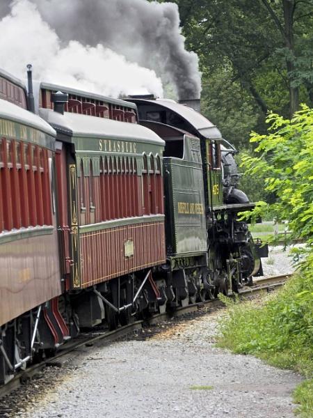 The Strasburg Railway by handlerstudio