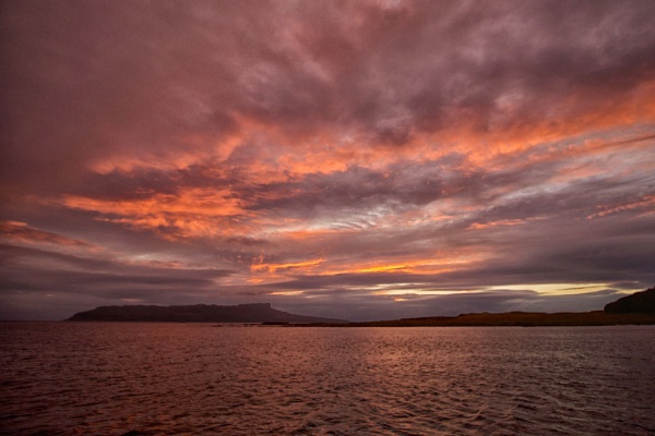 Dawn in the Small Isles by hrsimages