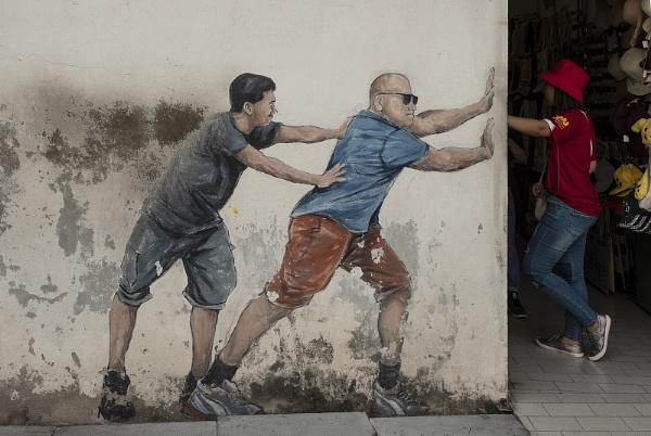 More Penang Street Art by jennialexander