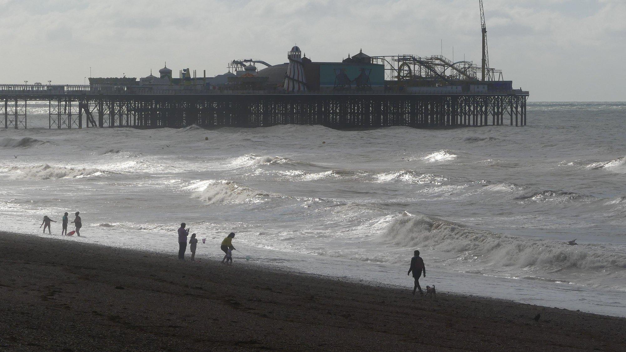 Storm Francis hits Brighton