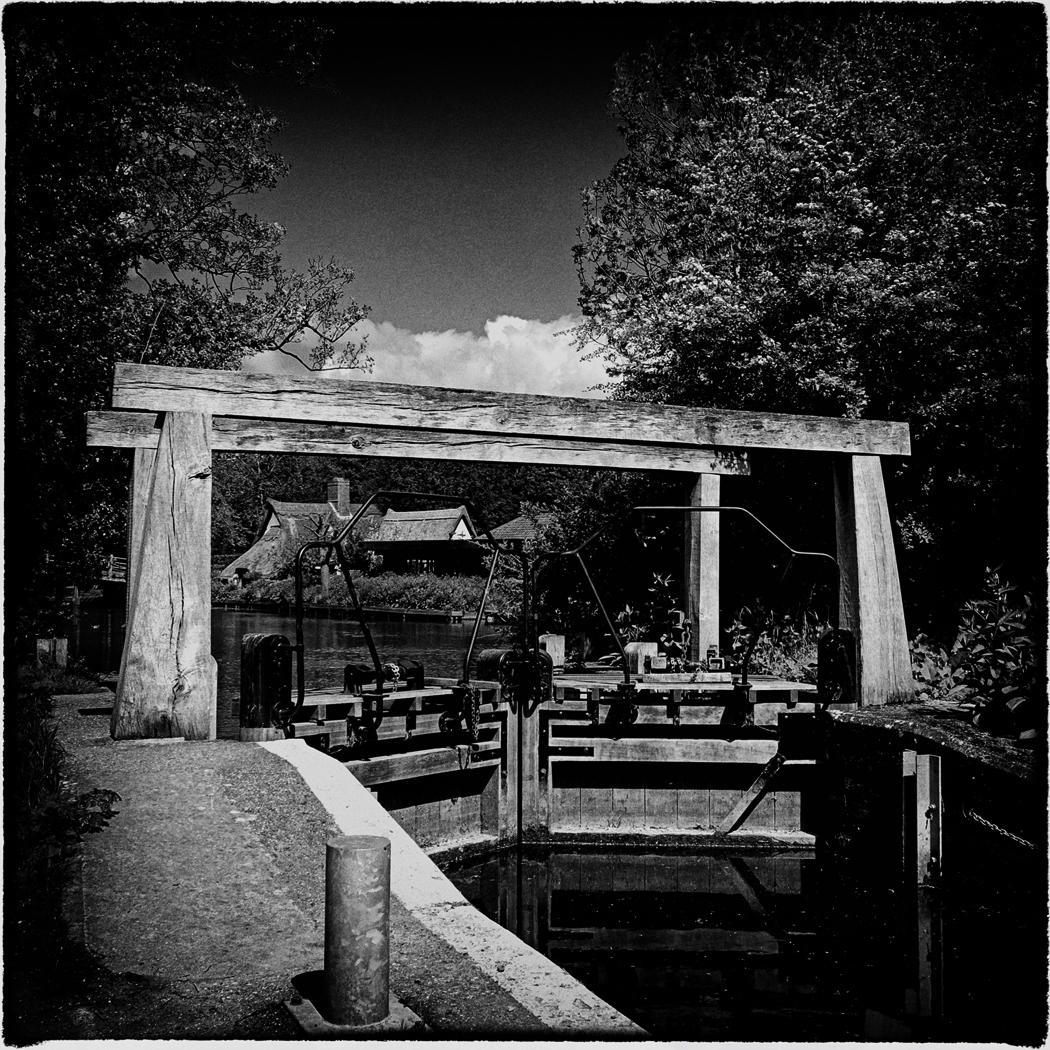 Flatford Mill Lock