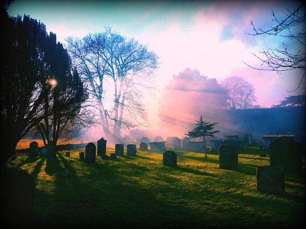 The churchyard,Down Ampney. by niknakpaddywhack