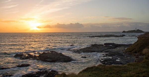 Cornish Sunset by LinH