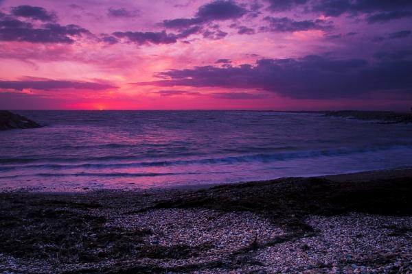 Selsey sunset by JackAllTog