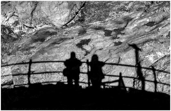 Shadow on Rocks by mac