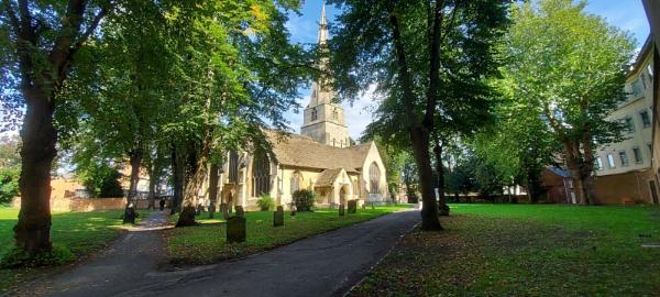 Church Yard by woodini254