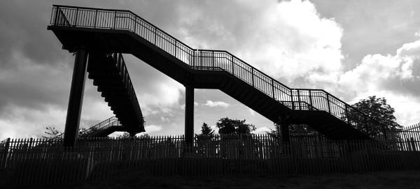 Modern Railway Bridge by woodini254