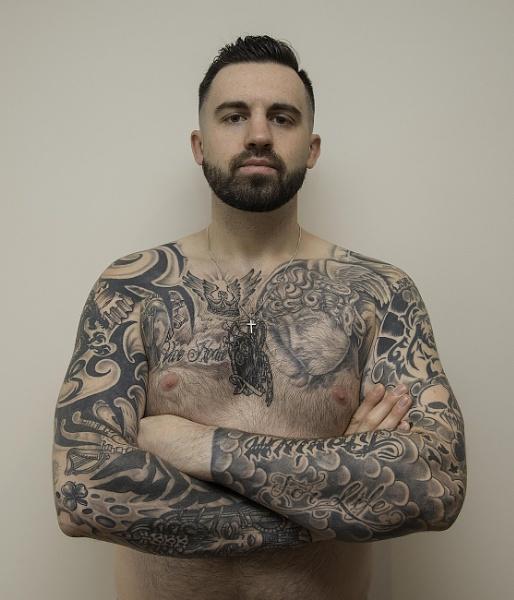 Dan - Tattoo Man by nellacphoto