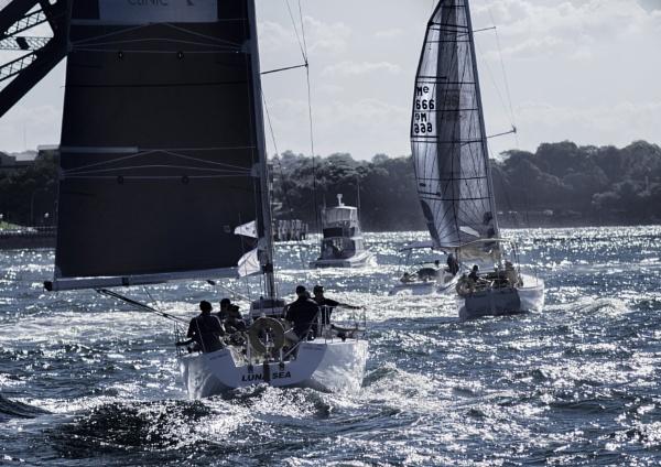 Sailing by Alain