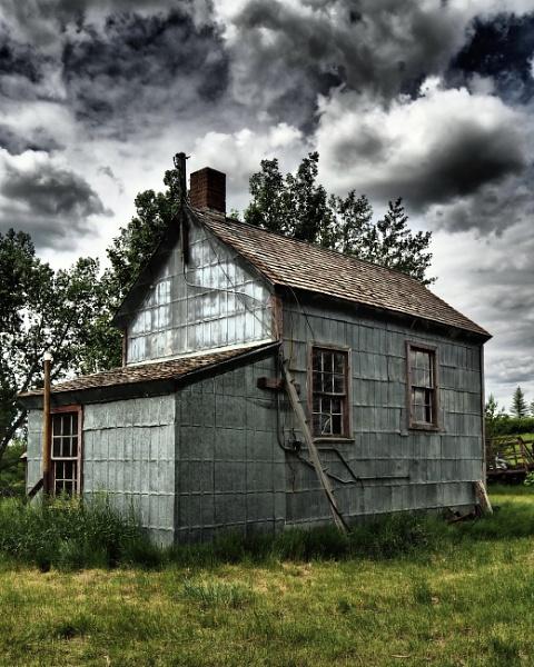 Tin smokehouse by waltknox