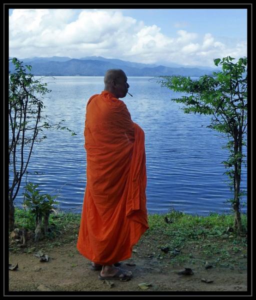 Buddha and The Spliff by ZenTony