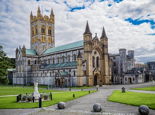 Buckfast Abbey by ivalyn