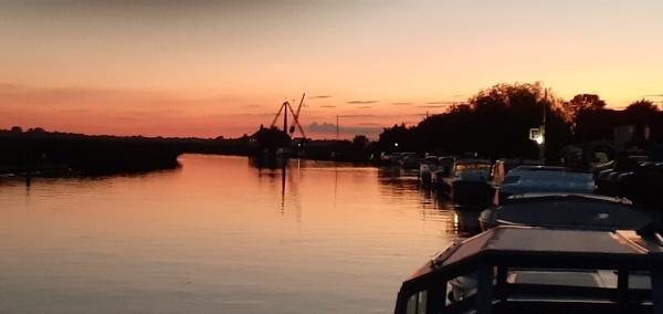 Evening light Norfolk broads by Alan26