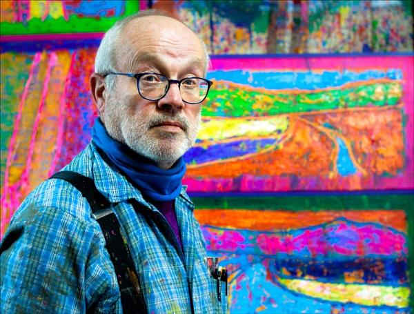 Portrait of a Painter by aitchbrown