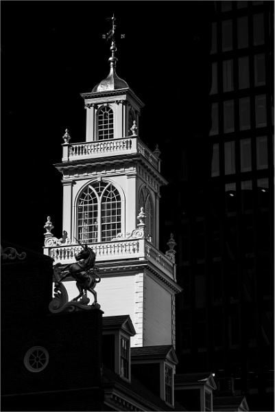 Old State House, Boston by KingBee