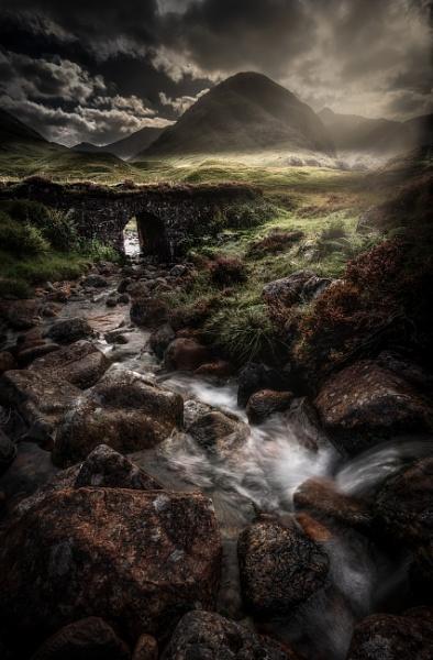 Old Military Road Glencoe by Mark_Callander
