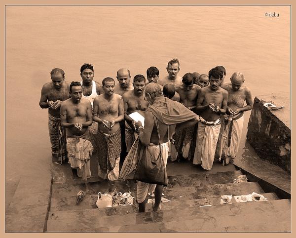 From_Kolkata # 94 Tarpan on Mahalaya..2 by debu