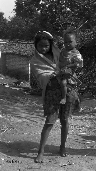 From_Kolkata # 97 My little sister Rani by debu