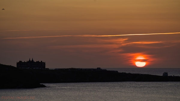 Newquay Sunset by Alan_Baseley