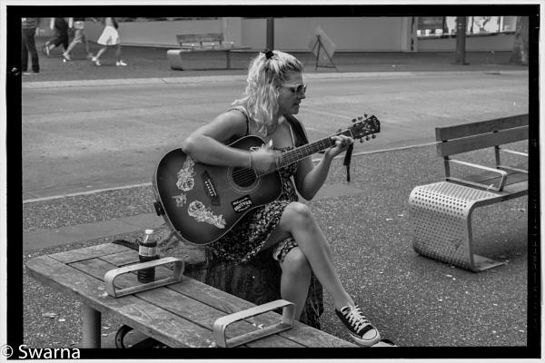Guitarist II... by Swarnadip