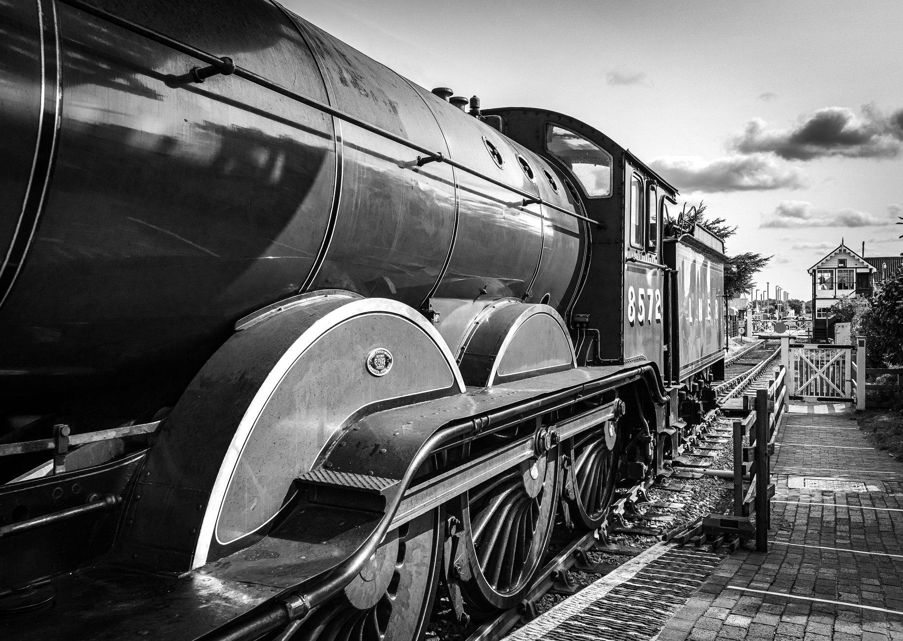 LNER locomotive number 8572 at Sheringham