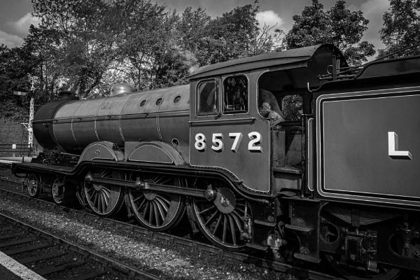 LNER locomotive number 8572 at Sheringham by pdunstan_Greymoon