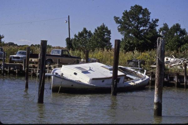 Sinking Workboat by handlerstudio