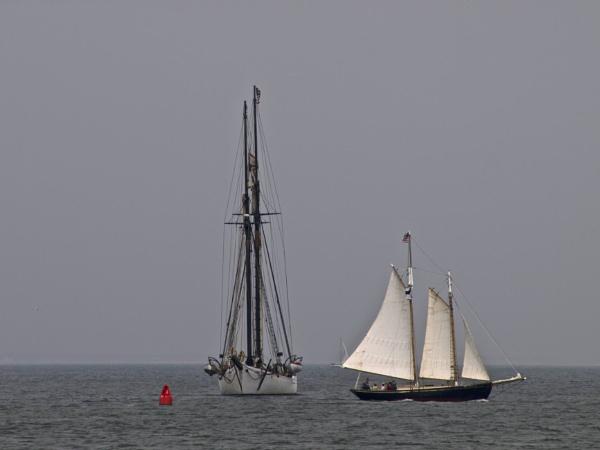 Two boats by handlerstudio