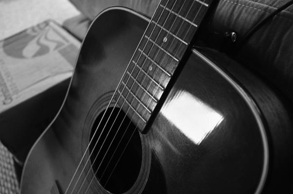 My guitar. by PetesPix
